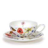Fine bone china Dunoon Wayside tea cup and & saucer.