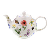 Fine bone china Dunoon Wayside small teapot.