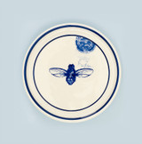 Ceramic Bee coaster. Made in England.