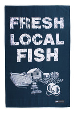 Mini Moderns local spuds cotton tea towel from Ulster Weavers.