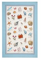 Madeline Floyd Seashore 100% Linen Tea towel from Ulster Weavers.