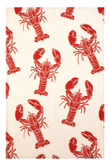 Lobster 100% cotton tea towel from Ulster Weavers.