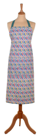 Seasalt of Cornwall 100% cotton Schooling Fish very clever apron from Ulster Weavers.
