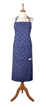 Seasalt of Cornwall 100% cotton Scattered Anchor very clever apron from Ulster Weavers.