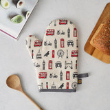 London Icons cotton oven mitt from Victoria Eggs.