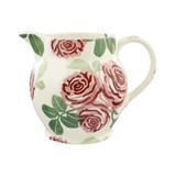 Emma Bridgewater handmade pottery Pink Roses 1 1/2 Pint Jug.