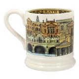 Emma Bridgewater Bath pottery half pint mug boxed.