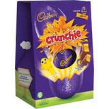 Cadbury Chocolate Easter Egg with 2 Crunchie Bars.