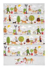 Walkies 100% Cotton Tea Towel from Ulster Weavers.