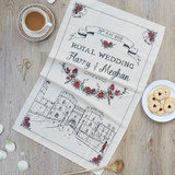 100% cotton Royal Wedding Tea Towel from Victoria Eggs.