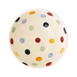 Emma Bridgewater Polka Dot French bowl inside