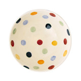 Emma Bridgewater Polka Dot French bowl inside