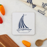 Melamine Sailing Boat Pot Stand from Victoria Eggs.