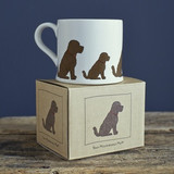 Pottery Cockapoo mug from Sweet William Designs.