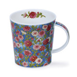 Dunoon Lomond Ophelia pink bone china mug.