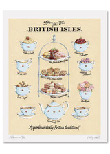 Kelly Hall Afternoon Tea Print. Printed in England.