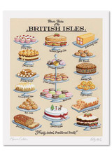 Kelly Hall Classic Cakes Print. Printed in England.