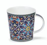 Dunoon Lomond Sheikh red bone china mug.