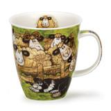 Dunoon Nevis Sheepies Pen bone china mug.