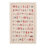 London Christmas cotton tea towel from Victoria Eggs.
