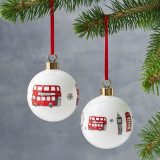 Victoria Eggs Christmas Baubles