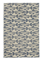 Salmon 100% cotton tea towel from Ulster Weavers.