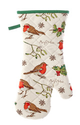 Robins and Holly gauntlet from Ulster Weavers.