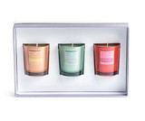 Winter Spice set of 3 votives boxed from Marmalade of London.