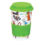 Bone china travel mug from Dunoon - Dogs Galore