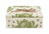Thornback & Peel Rabbit & Cabbage Deep Rectangular Tin