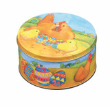Medium Round Easter Tin