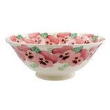 Emma Bridgewater Pink Pansy Serving Bowl