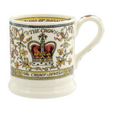 Emma Bridgewater The Crown half pint mug.