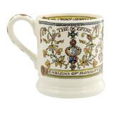 Emma Bridgewater The Crown half pint mug.