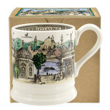 Emma Bridgewater Istanbul Half Pint Mug. Handmade in England.