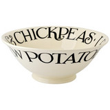 Emma Bridgewater Black Toast Serving Bowl