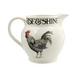 Emma Bridgewater handmade pottery Rise & Shine 1 1/2 Pint Jug.
