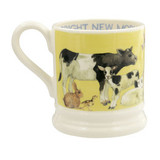 Bright New Morning 1/2 pint mug from Emma Bridgewater. Made in England.