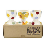 Emma Bridgewater Daffodils Set of 3 Egg Cups Boxed