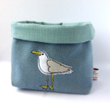 Poppy Treffry Cheeky Seagull Storage Pot