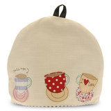 Poppy Treffry Teacups Tea Cosy.