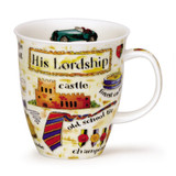 His Lordship Dunoon bone china mug in the Nevis Shape