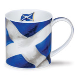 Fine bone china Dunoon Orkney St. Andrew's Cross mug