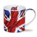 Fine bone china Dunoon Orkney Union Flag mug