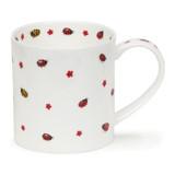 Fine bone china Dunoon Flutterby Ladybug mug