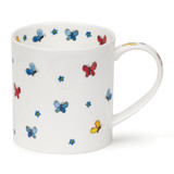 Fine bone china Dunoon Flutterby Butterflies mug