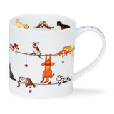 Fine bone china Dunoon Orkney Livewires Dog mug