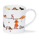 Fine bone china Dunoon Orkney Livewires Dog mug
