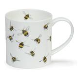 Fine bone china Dunoon Orkney Heather Longmuir Bee mug