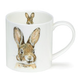 Fine bone china Dunoon Orkney Heather Longmuir Leveret mug